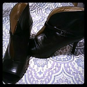 Mark Fisher leather booties